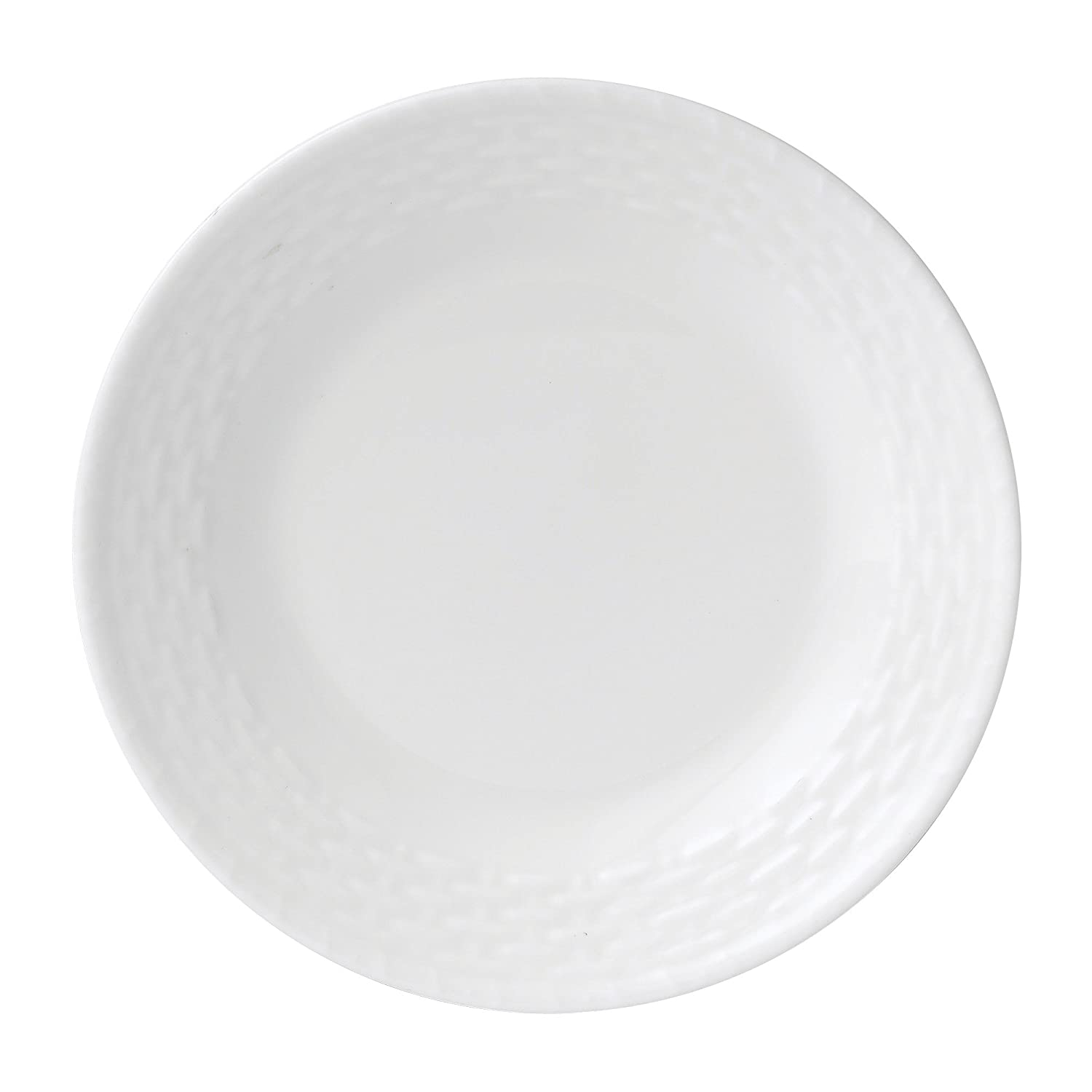 Wedgwood 6.25-in. Nantucket Basket Bread and Butter Plate Barrons Heslops 50156201183 DFBD WWCNBK 016