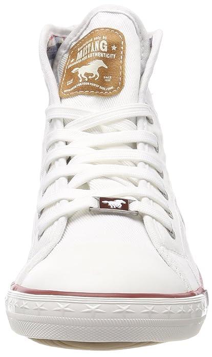 Les Hommes 4058-504-1 Mustang Haute Sneaker wndCYAjQ