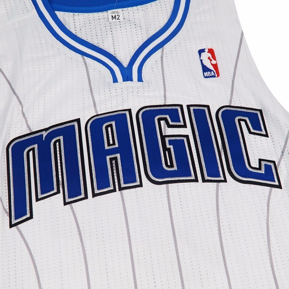 9d44bf98dfa1 Amazon.com   adidas Orlando Magic NBA White Official Authentic On-Court  Revolution 30 Home Jersey Men   Sports   Outdoors