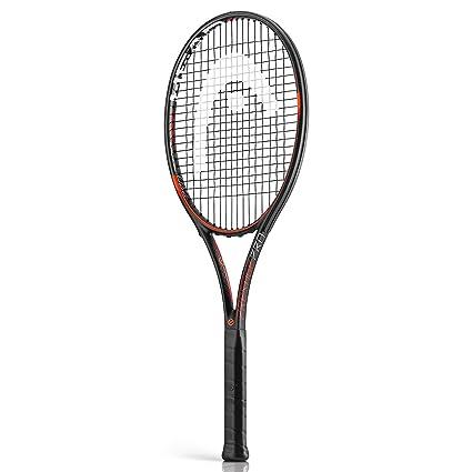 Head Graphene XT Prestige Pro - Raqueta de Tenis, Color Negro/Rojo/Naranja