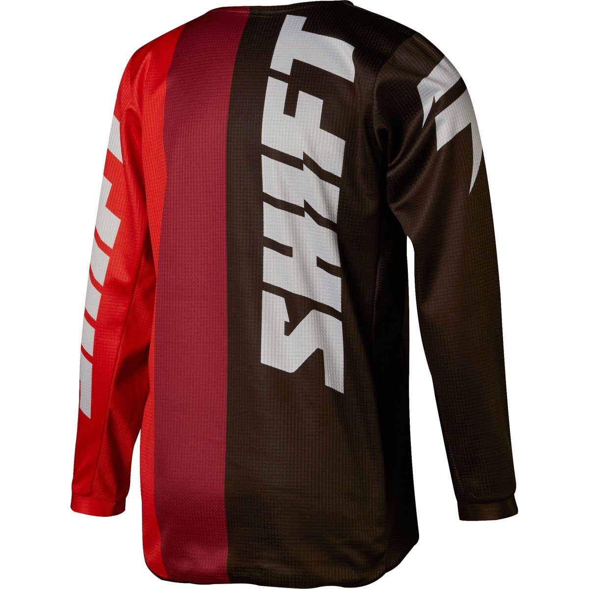 Shift 2018 Youth White Label Tarmac Jersey-Black/Red-YXL by Shift (Image #2)