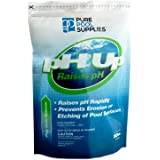 Pure Pool Supplies pH Up 10 Lbs. (pH Increaser pH Plus Soda Ash Sodium Carbonate) Pool Spa Balancer