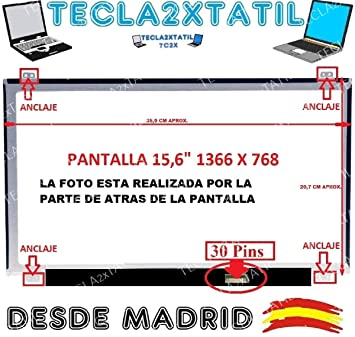 "Pantalla Compatible para PORTATIL Acer Aspire E5-573g Series 15,6"" HD 1366"