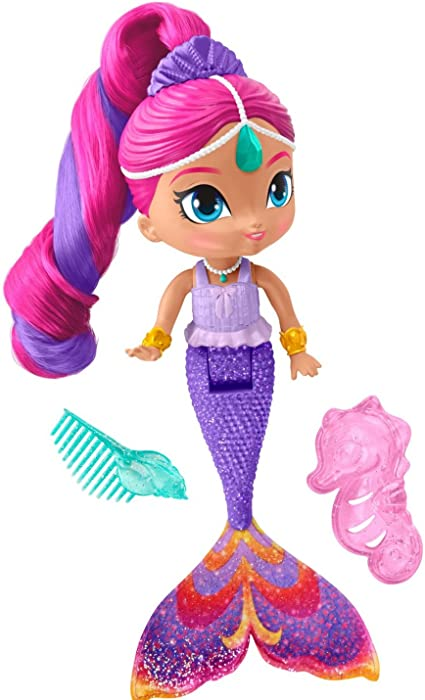 Amazon.es: Shimmer & Shine - Sirena Magic Shimmer: Juguetes y juegos
