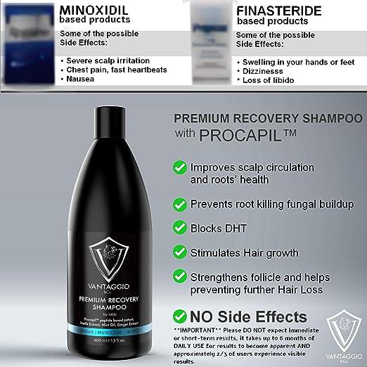 Amazon.com: VANTAGGIO & Co. Champú para pérdida de cabello ...