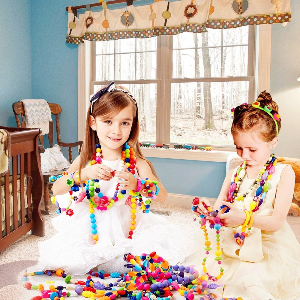 XM-YHX Pop Beads DIY Jewelry Making Kits For Girl (420)