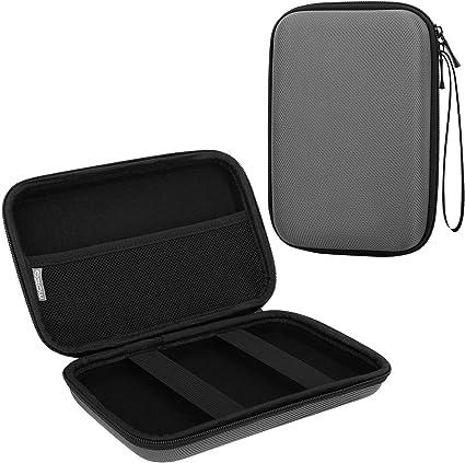 MoKo 7-Inch GPS Bolso de Almacenamiento para Dispositivo de Navegación, Bolsa Organizadora EVA para Automóviles, Cables Estuche para Coche GPS Navigator Garmin/Tomtom/Magellan 7