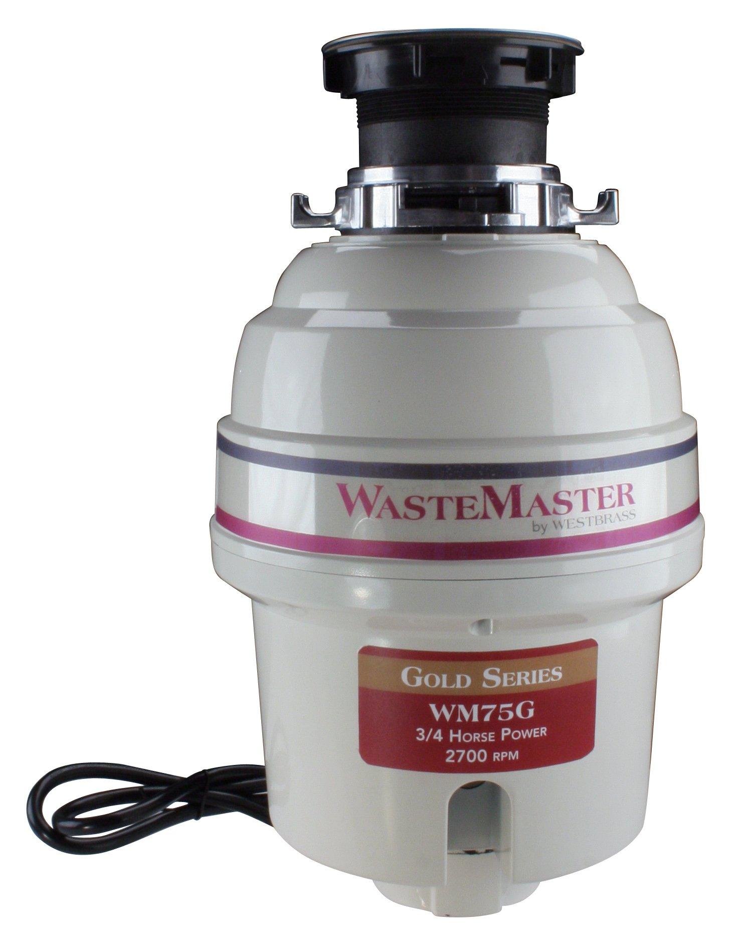 Westbrass WM75G .75 HP Food Waste Disposal by Westbrass