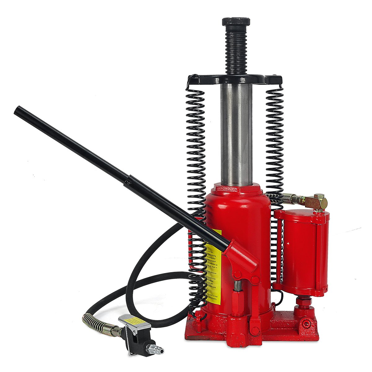 20 Ton Air Hydraulic Bottle Jack Manual Lifts Hoist