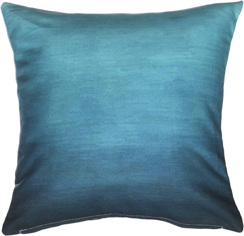 Fab Habitat Decorative Large Throw Pillow 20 x 20 I Soft Textile Feel I Made from Recycled Plastic Bottles I Use Inside or Outdoors I Cushion and Cover I Double Sided I Arley Khaki