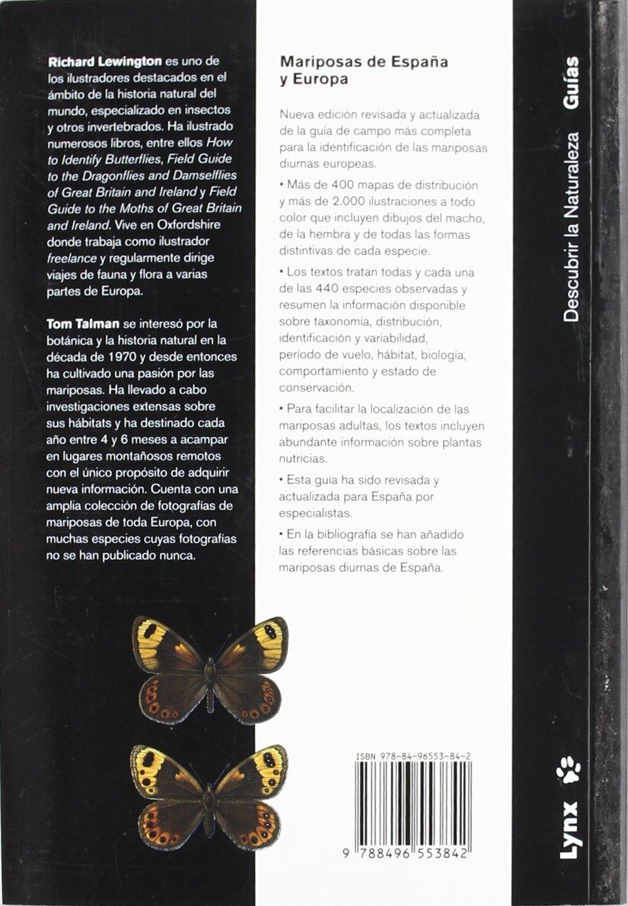 Mariposas de España y Europa Descubrir la Naturaleza: Amazon.es ...