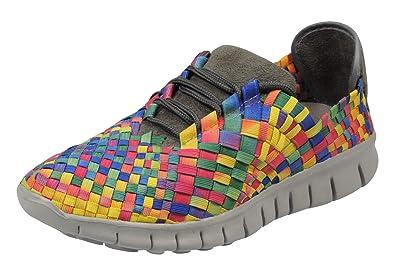 a5de817133478c Boras Reflex Sneaker Schuhe Sportschuhe Freizeitschuhe microsuede multi bunt  41