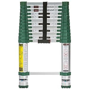 Xtend & Climb 780P Aluminum Telescoping Ladder Type IA Professional Series, 12.5-Foot
