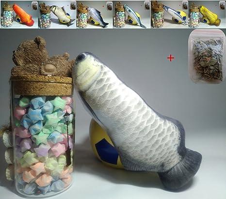 Maibar juguete gatos juguetes para gatos pescado 3D inteligencia mariposa gatos hierba gatera Interactivo para gatos