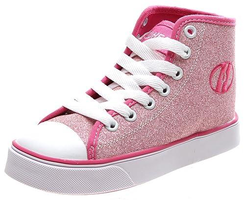 Heelys Veloz - Zapatillas - Rosa con brillantina - 40,5: Amazon.es: Zapatos y complementos