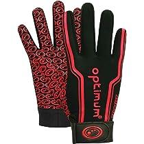 Gilbert Boys International Generic Rugby Gloves Black X-Small