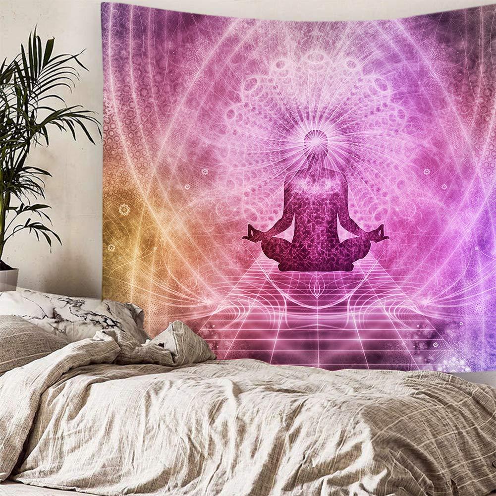 Amazon.com: Chakra Buddha - Tapiz de pared, diseño de chakra ...