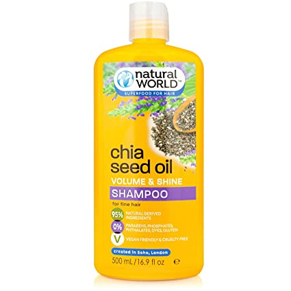Natural World, Gel y jabón (Chia Seed Oil) - 500 ml.: Amazon.es ...