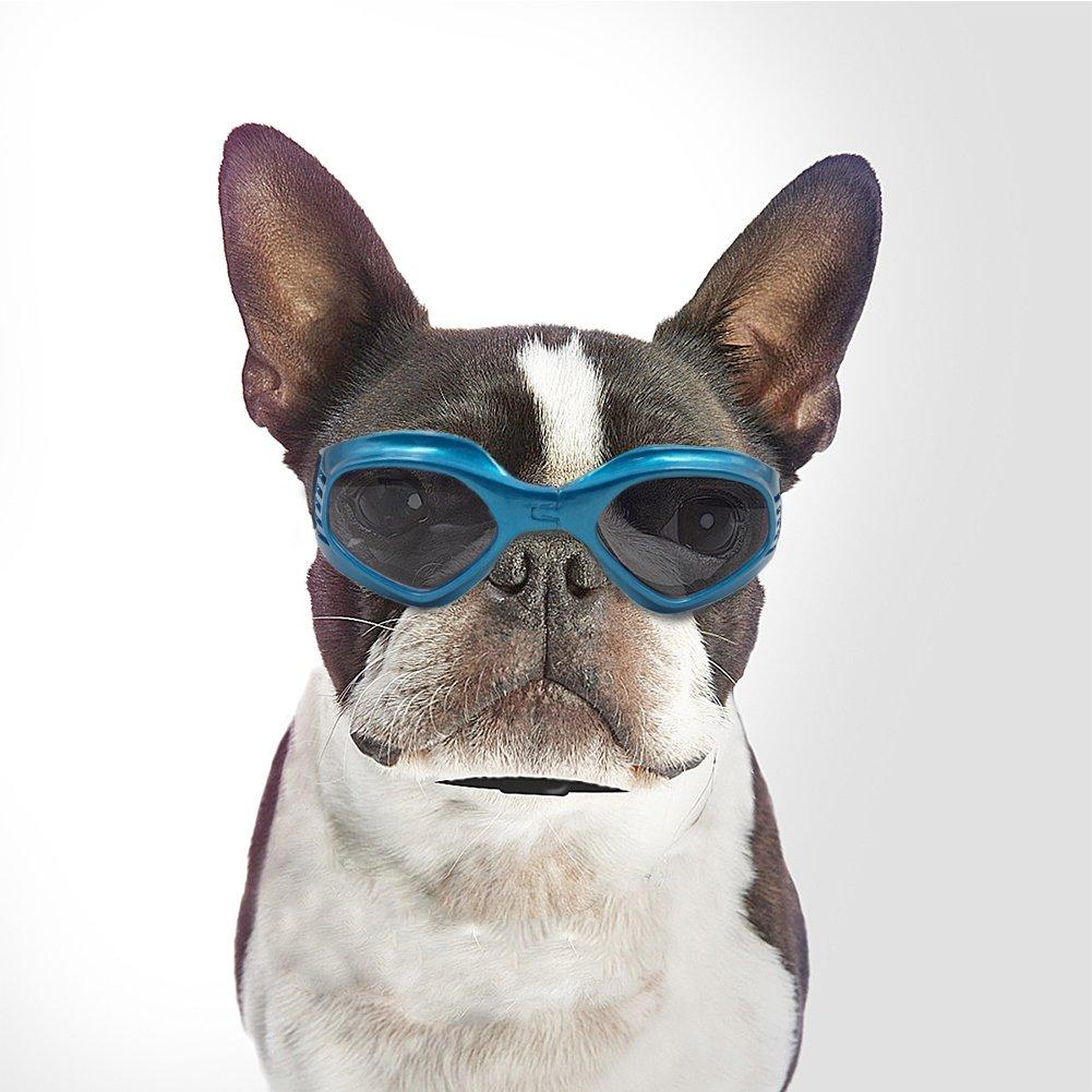 Namsan Pet Goggles Doggles Goggles Sunglasses For Dog -Blue