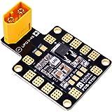 FPVDrone Matek PDB XT60 Power Distribution Board BEC-5V/2A 12V/0.5A with XT60 Plug for Quadcopter
