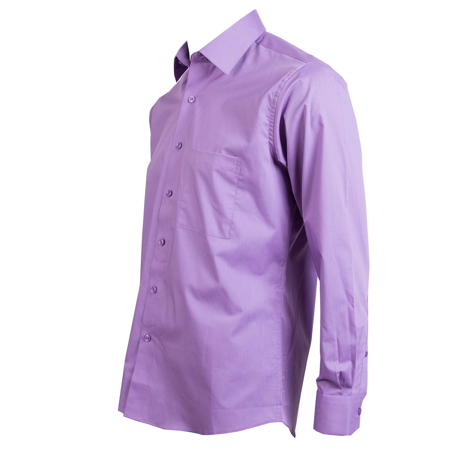 Pierre Cardin Mens Shirts Long Sleeves Slim Fit Dress Shirts For