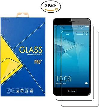 2 Pack] Protector de cristal templado compatible con Huawei Honor ...