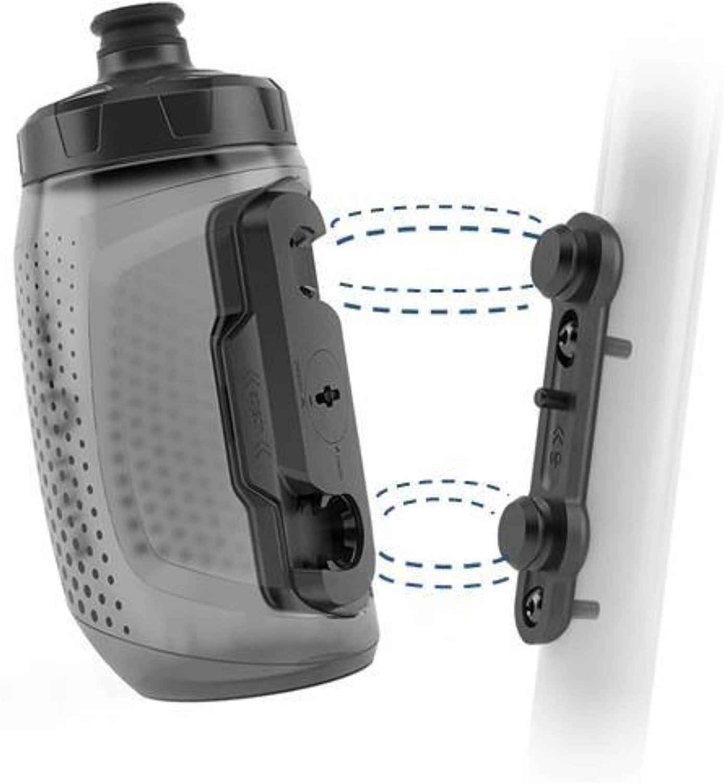 Fidlock Twist Trinkflasche 450ml Fahrrad Halterung Magnetisch Rahmen Wasserflasche Befestigung, 09611(TBL)