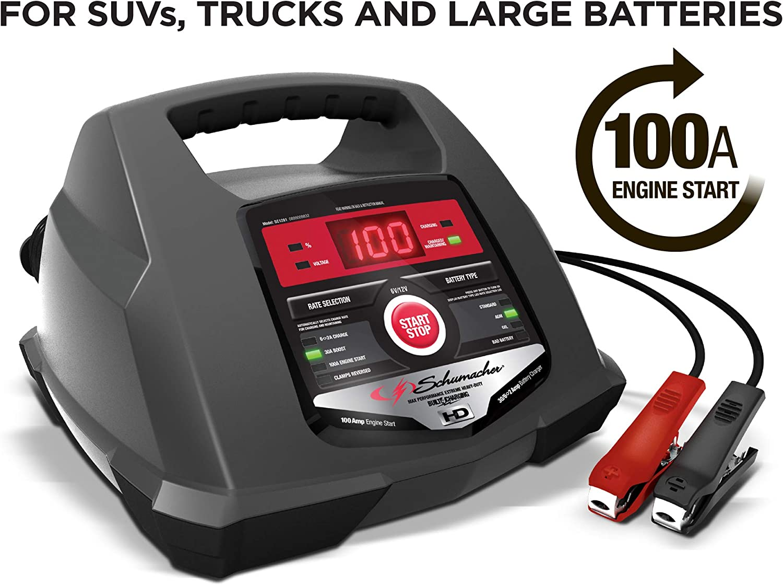 Schumacher SC1281 100 Amp 30 6V/12V Fully Automatic Smart Battery...