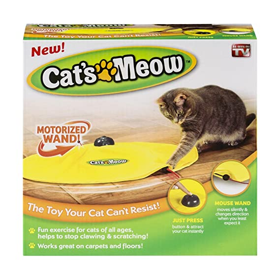 amazon com cat s meow cat toy as seen on tv undercover mouse