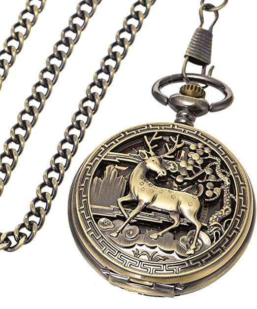 Amazon coupon code for Pocket Watch for Fathers Day Birthday