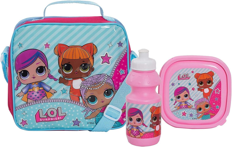 LOL Surprise! Dolls Girls School Lunch Bag Set 3 Pcs - Bolsa con ...