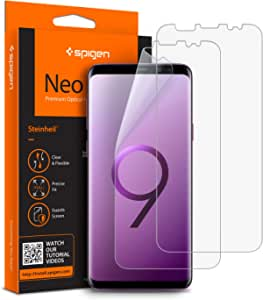 Galaxy S9 Plus, Spigen Screen Protector NeoFlex Flexible Film x 2