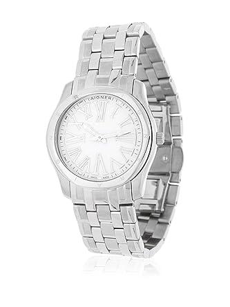 Armbanduhr damen silber  Aigner Damen Armbanduhr Lazio Ladies silber A42206: Amazon.de: Uhren