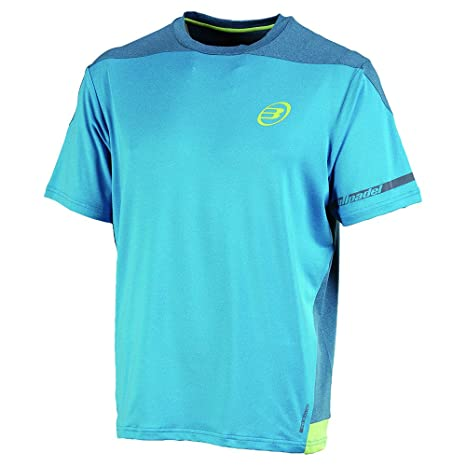 Bull padel Bachiller - Camiseta para hombre, color azul (real/vigore),