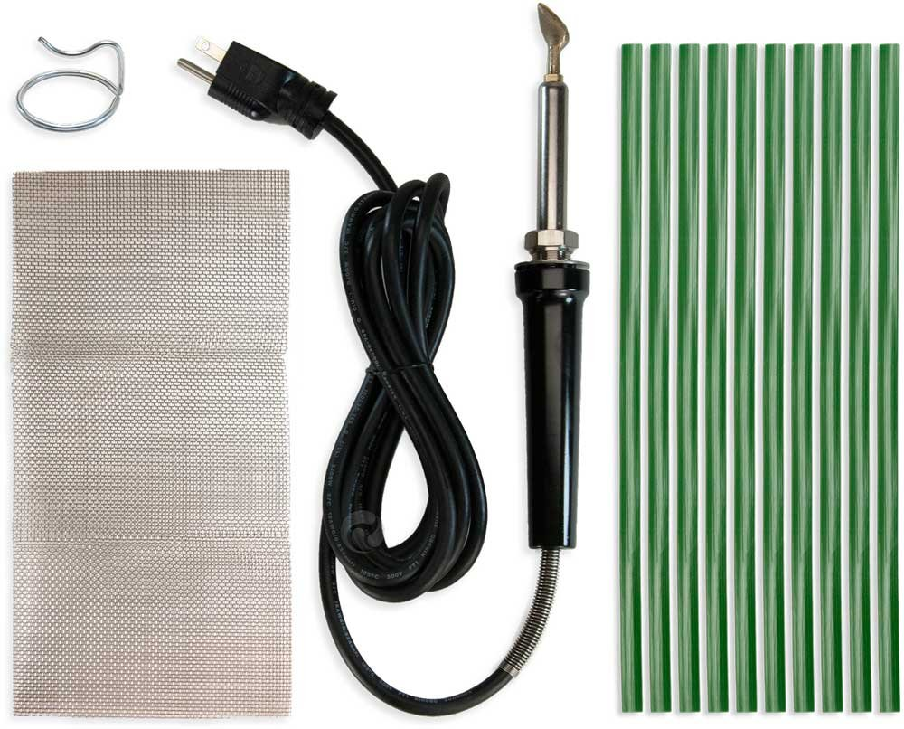 Poly Welder Pro 200 Watt Plastic Repair Kit (Green)