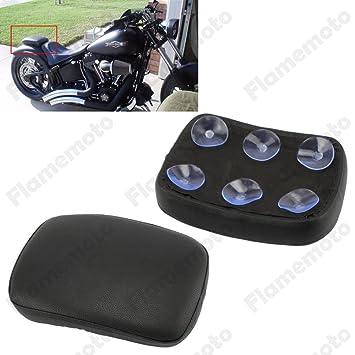 oligex (TM) - motocicleta negro trasera pasajero cojín 6 ...