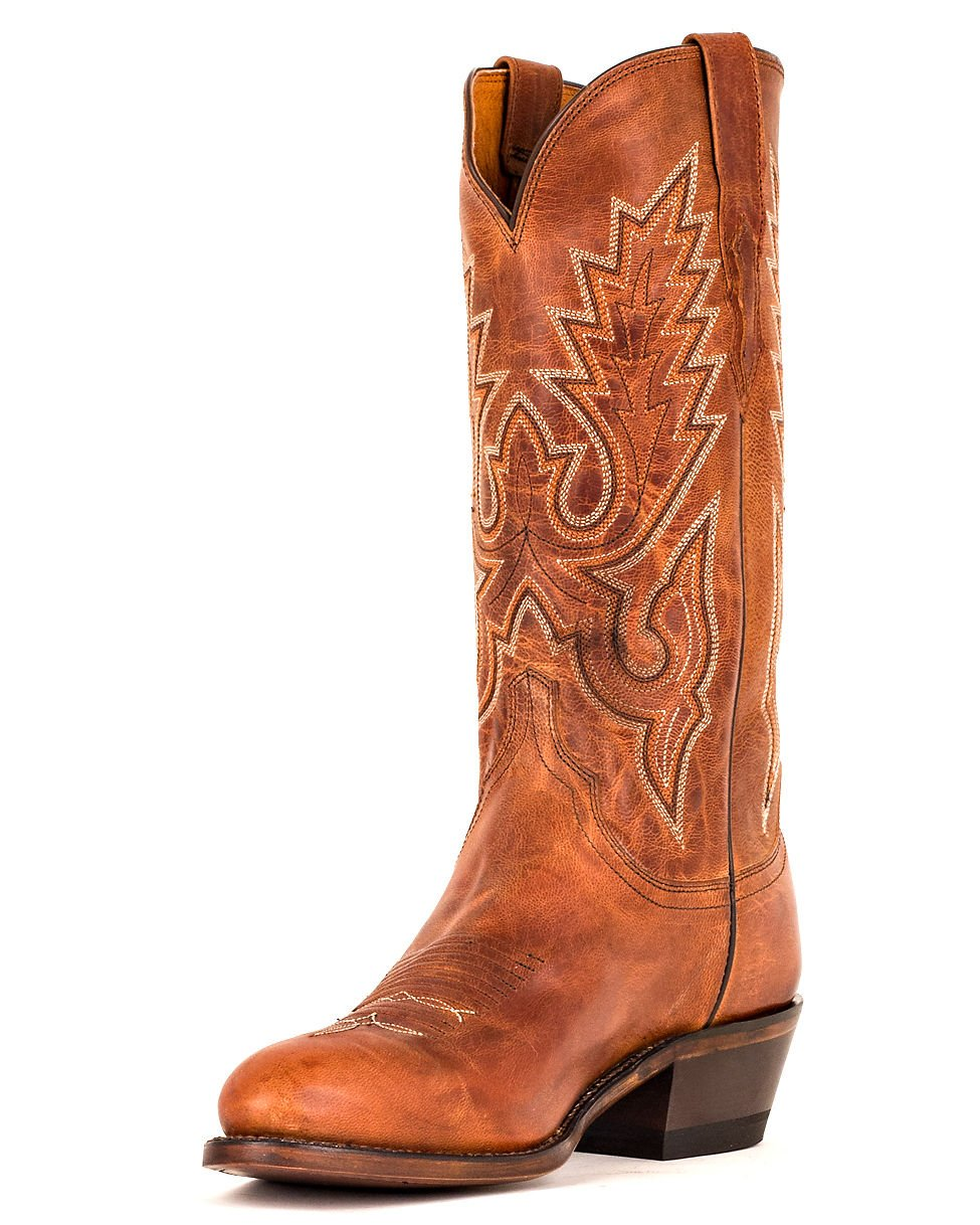 Lucchese Since 1883 Men's M1000.R4 Casual Shoes,Peanut Brittle Madras Goat,8.5 D US