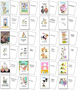 Amazon.com: Funny tarjeta de cumpleaños tarjetas de paquete ...