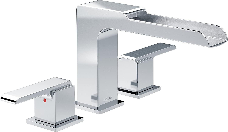 Delta Faucet T2768 Ara Roman Bathtub Waterfall Faucet, Chrome ...