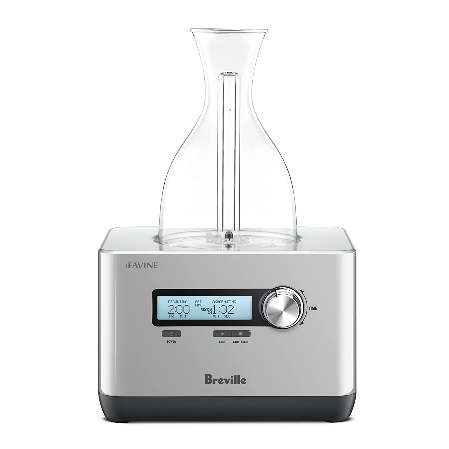 Breville the Sommelier BWD600SIL Electric Hyper-Speed Decanter