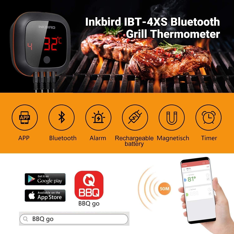 3x Termometro Grill Carne Termometro BBQ TERMOMETRO PER BARBECUE BISTECCA Smoker
