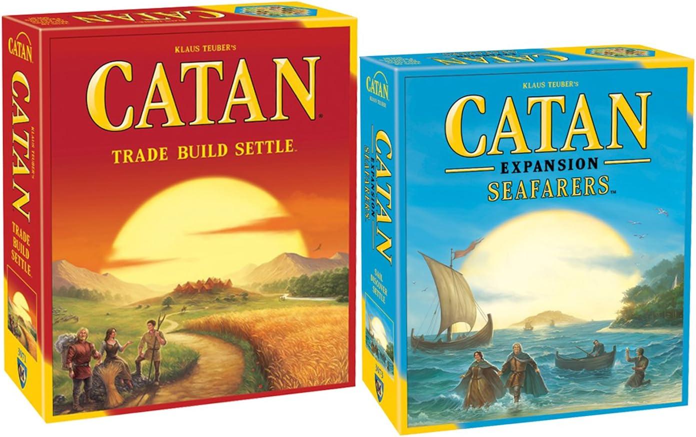 Amazon.es: Catan Studios Catan 5ª edición Viene Equipada con Catan: Gente de mar Juego de expansión 5ª edición