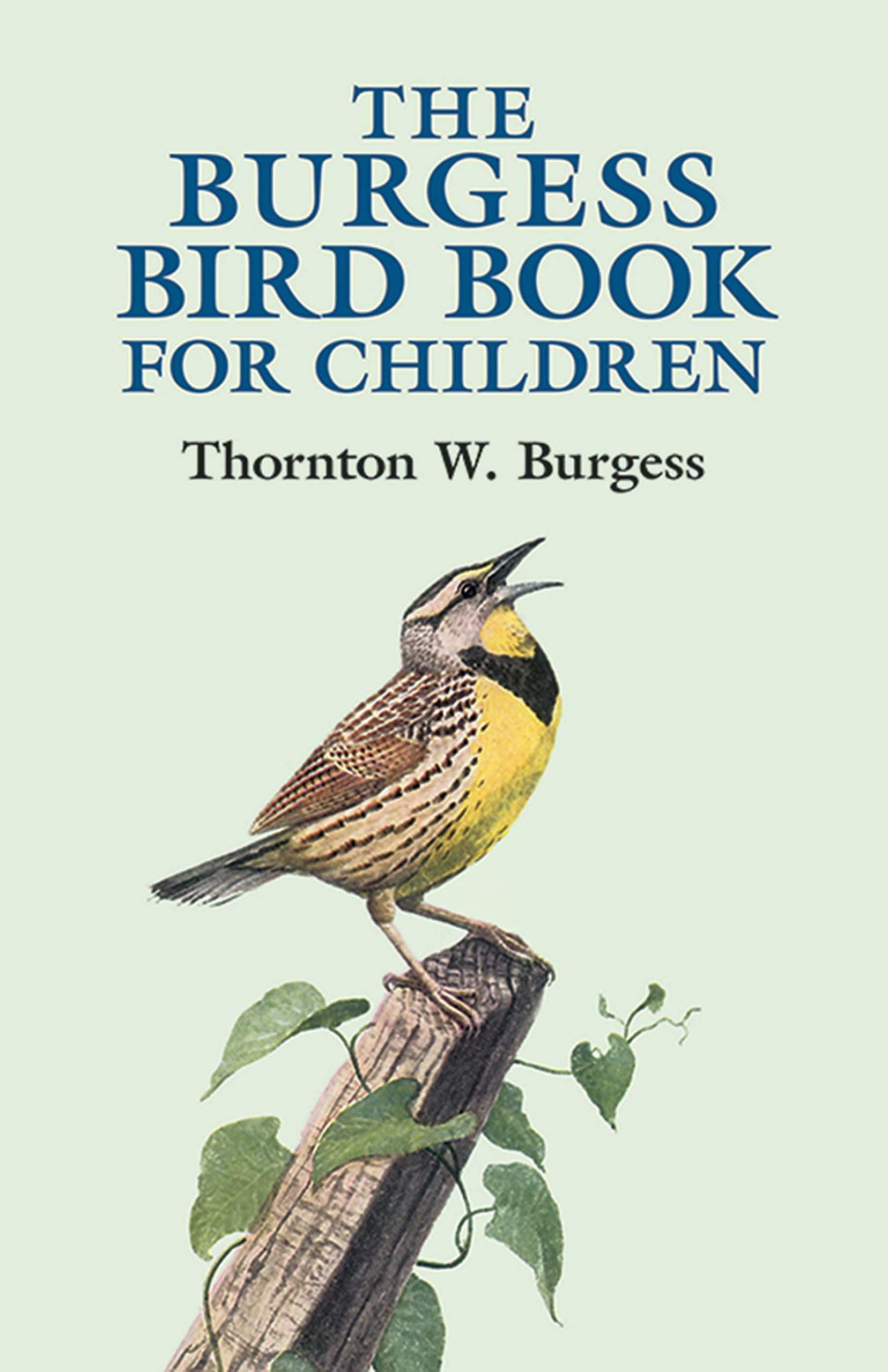The Burgess Bird Book for Children (Dover Children's Classics): Burgess, Thornton W.: 9780486428406: Amazon.com: Books