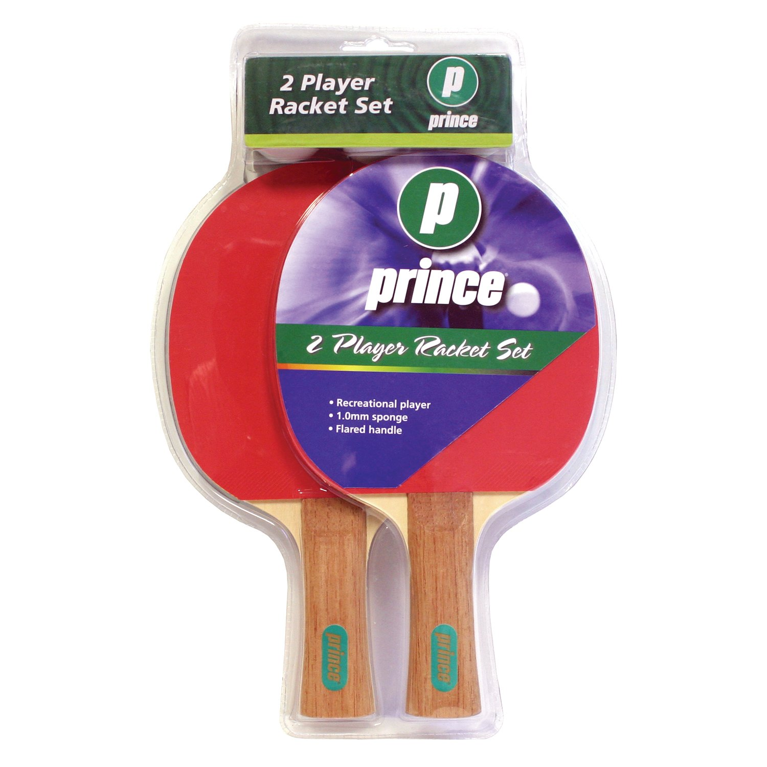 DMI Sports Prince Deluxe 2 Player Table Tennis Racket Set