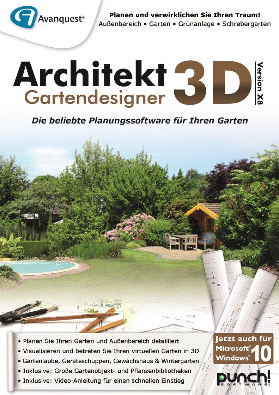 Architekt 3D X8 Gartendesigner [PC Download]: Amazon.de: Software
