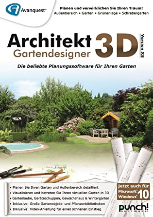Architekt 3D X8 Gartendesigner [PC Download]