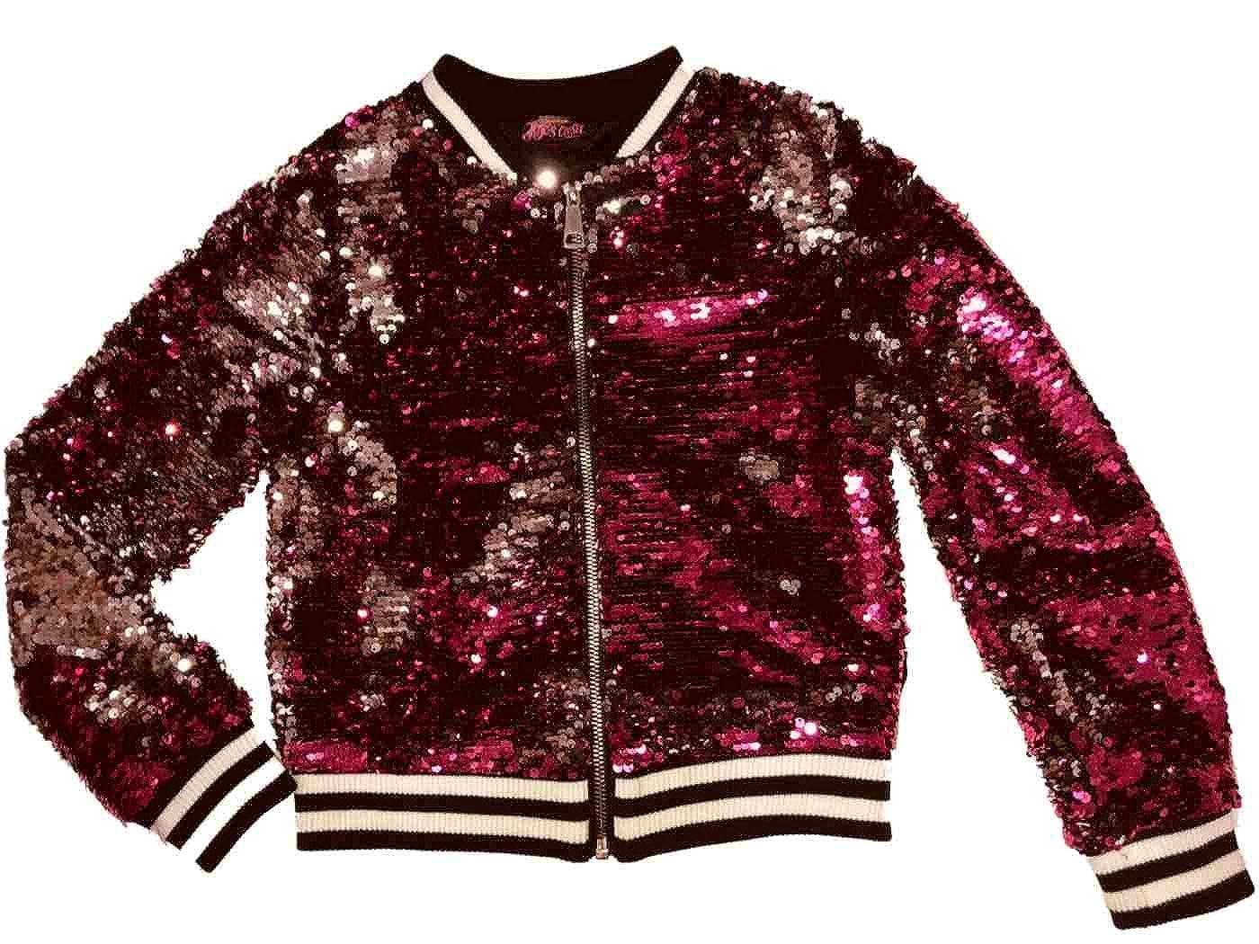 f83db7700 Amazon.com: Jojo's Closet Girls JoJo Siwa Sequin Jacket: Clothing