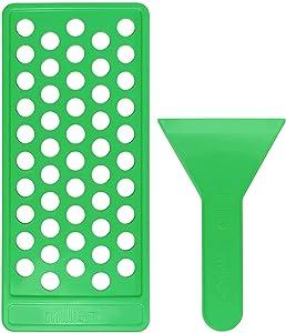 Milliard 50 Tube Lip Balm Pouring Tray with Scraper