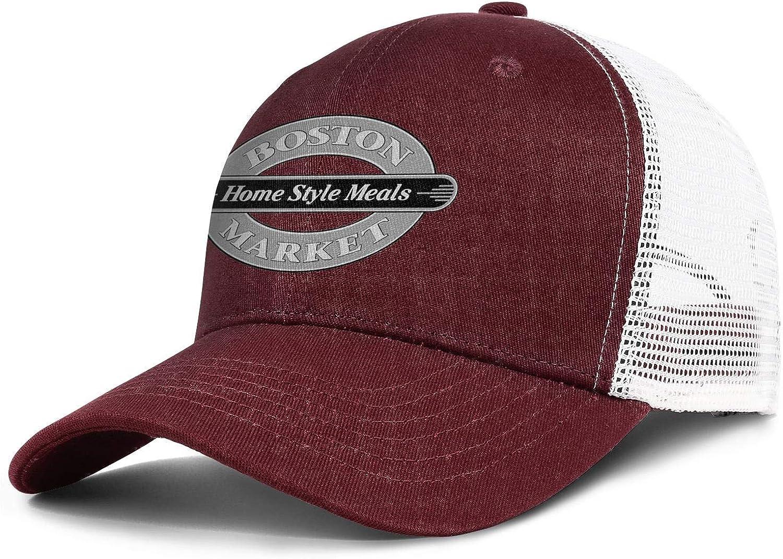 WintyHC Boston Market Logo Cowboy Hat Trucker Hat Adjustable Fits Gas Cap