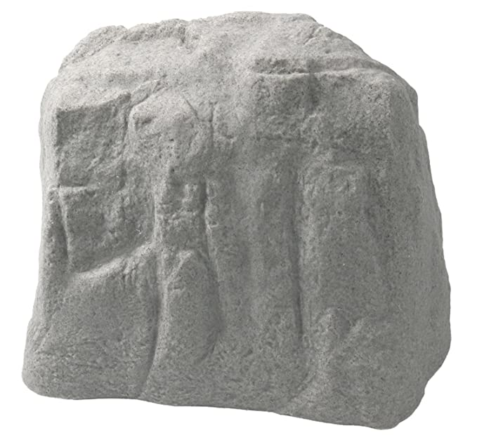 Emsco Group 2185 Natural Granite Appearance – Large – Lightweight – Easy to Install-20.5x25x18 Fake Landscape Rock
